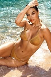 Dwuczęściowy kostium kąpielowy Verona gold