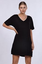 Damska koszula nocna DKNY Black