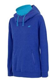 Damska bluza sportowa 4F ze stójką - niebieska