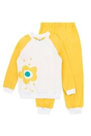 Dziewczęca piżama Flower Yellow