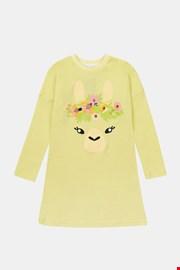Dziewczęca koszula nocna Lama