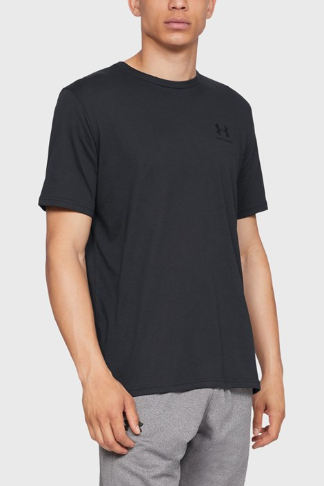 Czarny T-shirt Under Armour Sportstyle