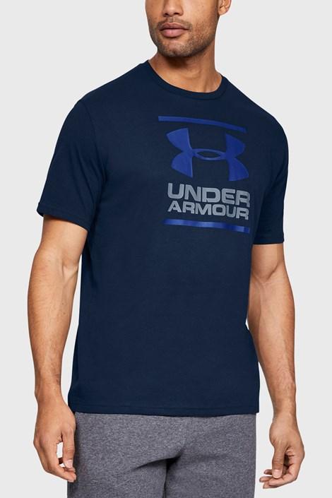 Ciemnoniebieski T-shirt Under Armour Foundation