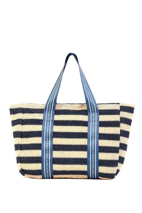 Damska torba plażowa Elle niebieska