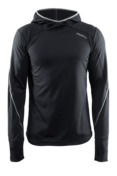 Męska funkcyjna bluza sportowa CRAFT Mind Hood czarna