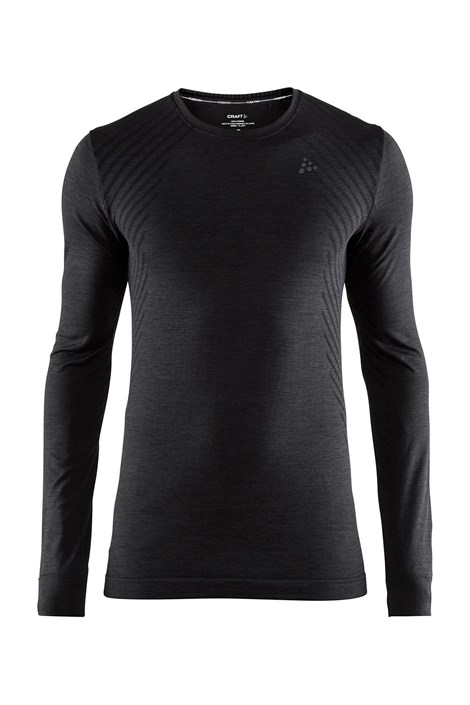 Męski T-shirt CRAFT Fuseknit Comfort Black