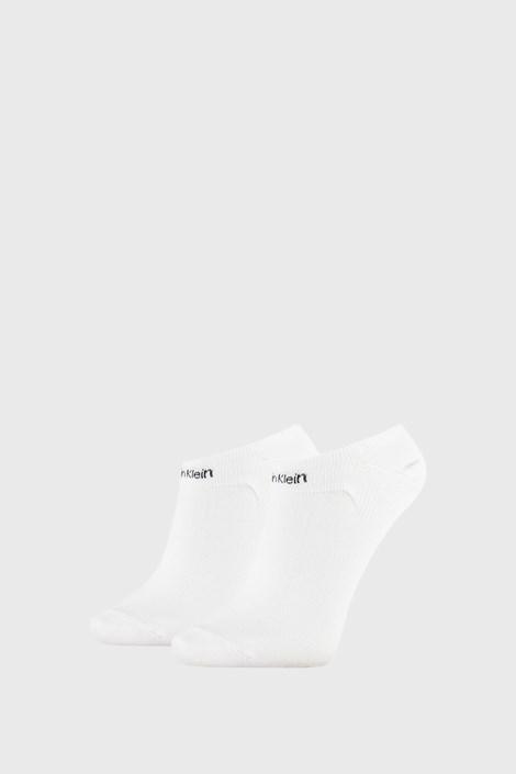 2 PACK damskich skarpetek Calvin Klein Leanne białe