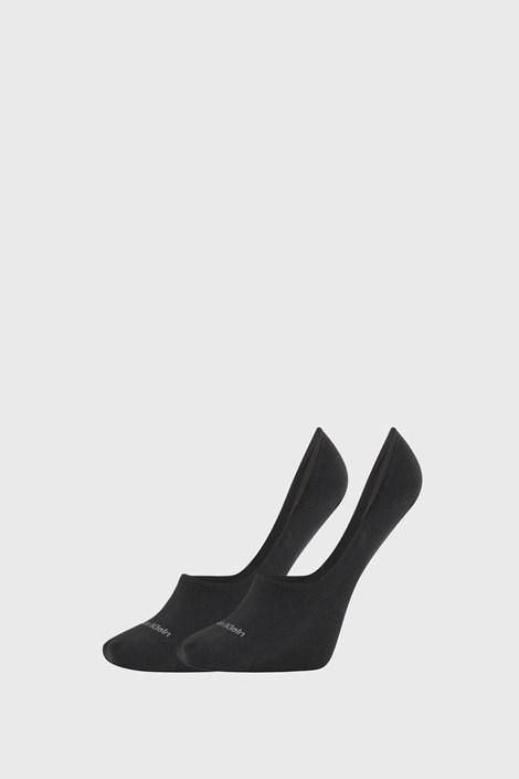 2 PACK damskich skarpetek Calvin Klein Jessica czarne