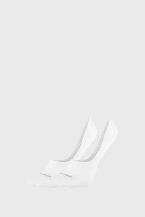 2 PACK damskich skarpetek Calvin Klein Jessica białe