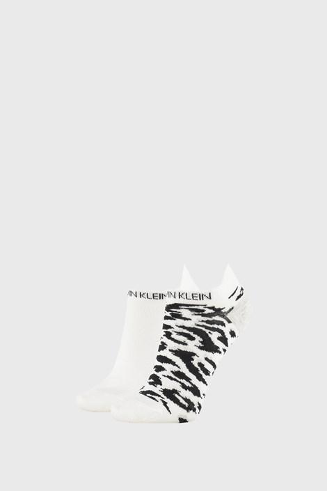 2 PACK damskich skarpetek Calvin Klein Libby białe