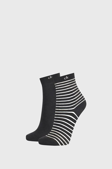 2 PACK damskich skarpetek Calvin Klein Lilly czarne