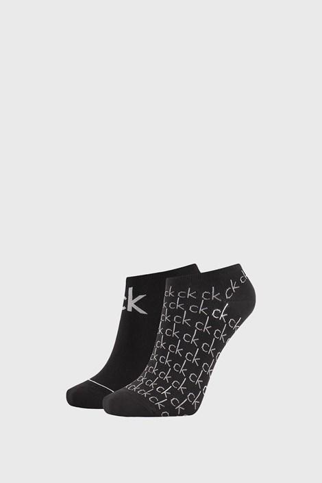 2 PACK czarnych damskich skarpetek Calvin Klein Callie