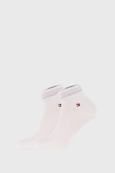 2 PACK białych skarpetek Tommy Hilfiger Quarter