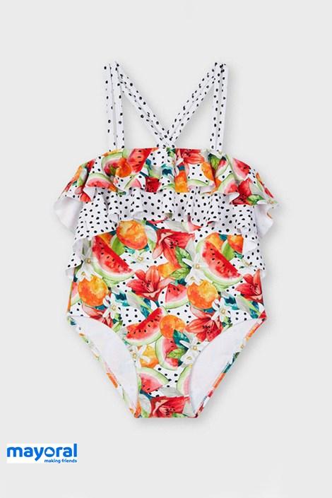 Jednoczęściowy dziewczęcy kostium kąpielowy Mayoral Melone