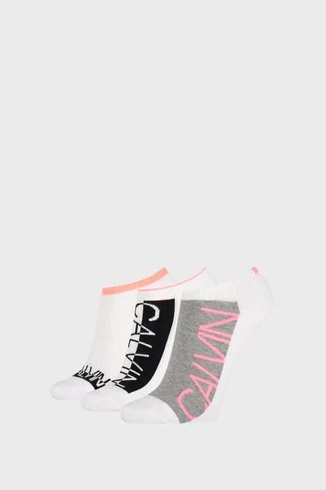 3 PACK damskich fig Calvin Klein Nola białe