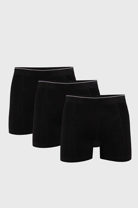 3 PACK czarnych bokserek Tender Cotton