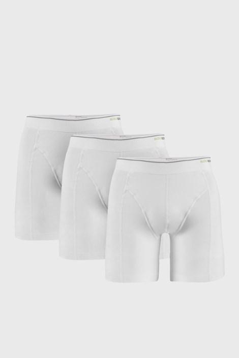 3 PACK białych bokserek Tender