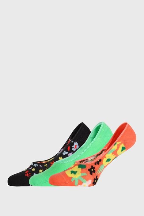 3 PACK skarpetek Happy Socks Flower