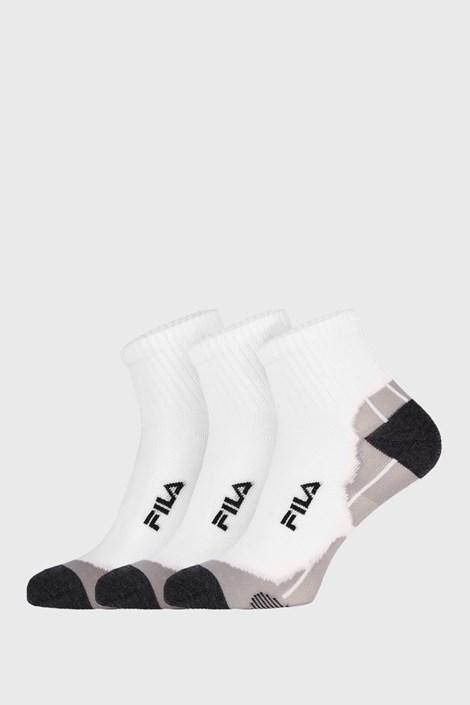 3 PACK białych skarpetek Fila Multisport