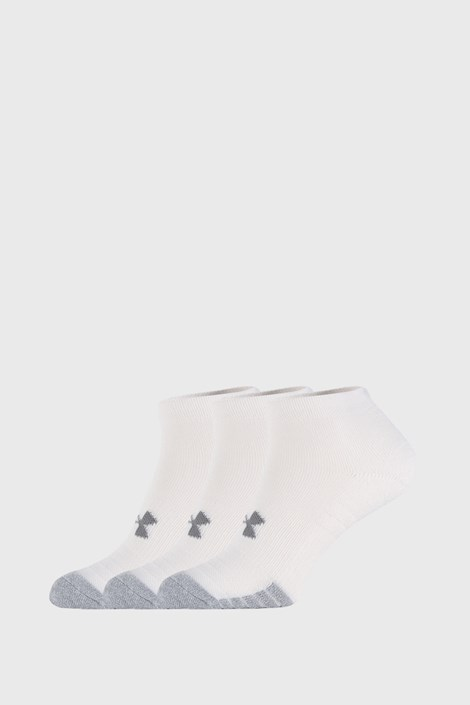 3 PACK białych skarpetek Under Armour Locut