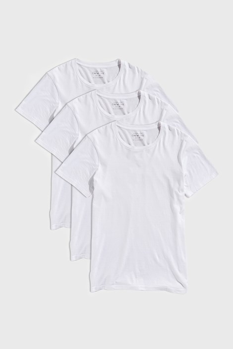 Biała koszulka Austin 3 PACK