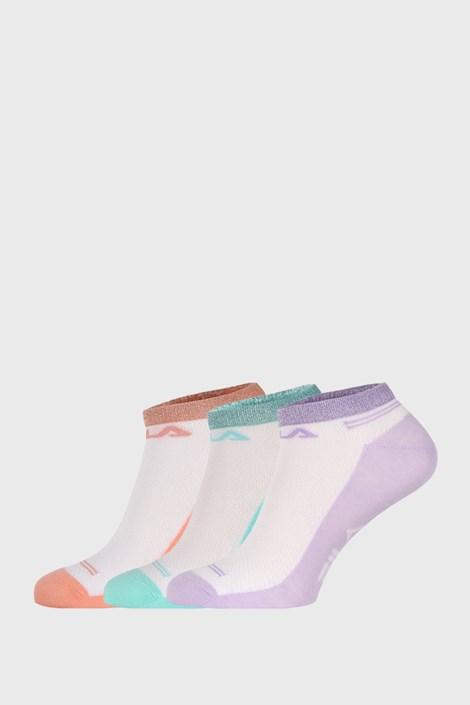 3 PACK skarpetek FILA Invisible Lady Color