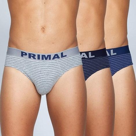 Trójpak męskich slipów PRiMAL S141