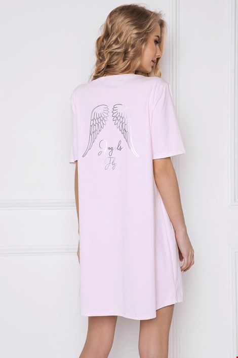 Damska koszula nocna Angel różowa