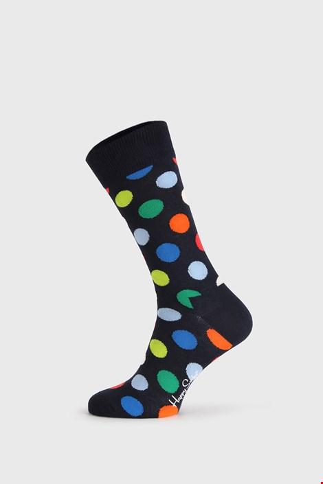 Czarne skarpetki Happy Socks Big Dot