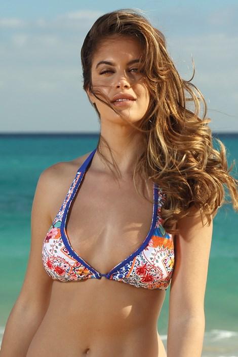 Biustonosz od stroju kąpielowego bikini Balkan Blue