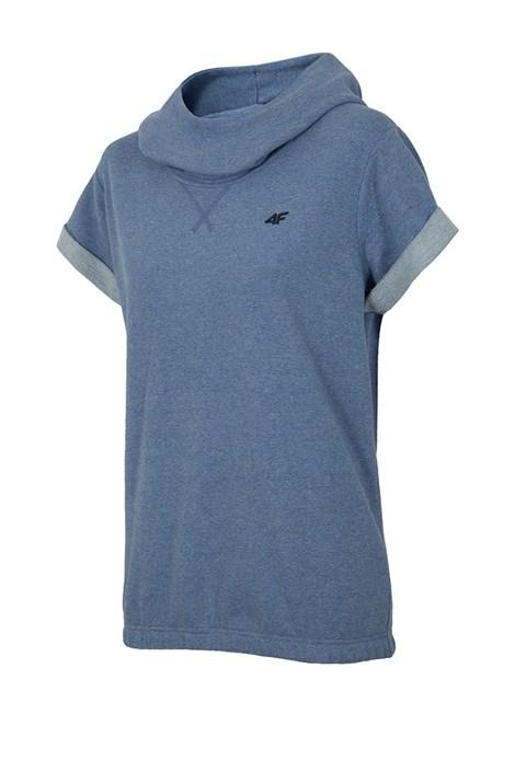 Modna damska bluza 4F z krótkimi rękawami Blue