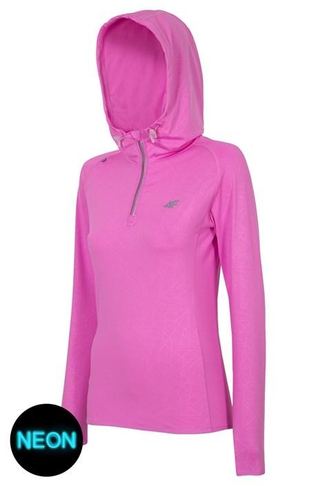 Damska bluza sportowa 4F Pink