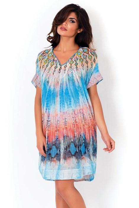 Włoska sukienka plażowa David Mare, Python