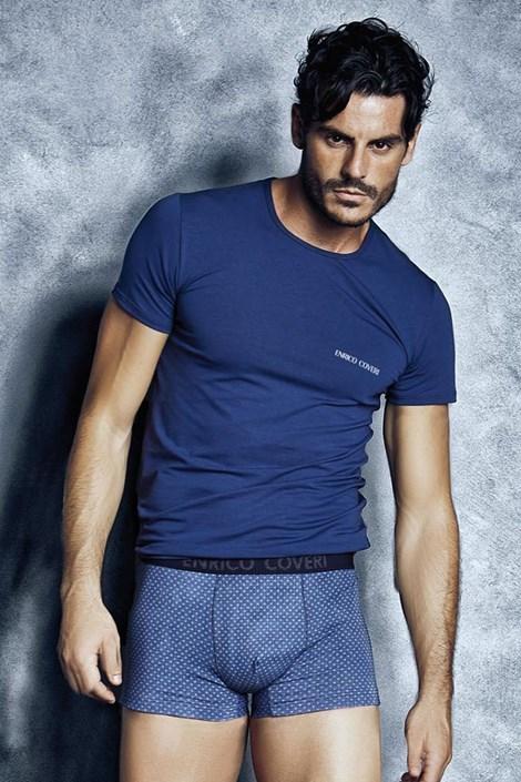 Męski komplet: T-shirt i bokserki ENRICO COVERI Valerio1