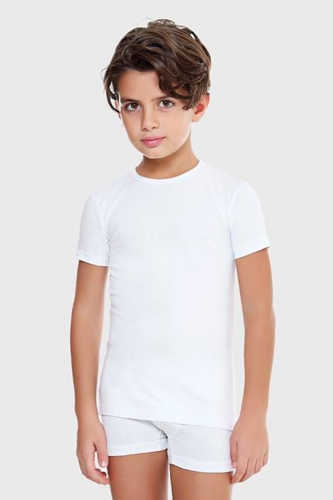 Chłopięcy T-shirt E. Coveri Basic biały