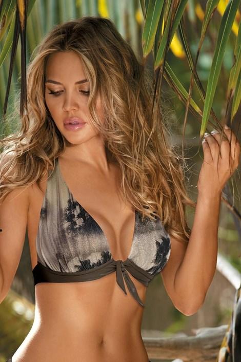 Biustonosz od stroju kąpielowego bikini Grenada Khaki
