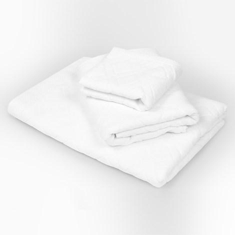 Duży ręcznik Charles biały