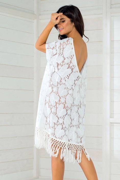8ed074158d Włoska sukienka letnia marki Iconique IC8011 White