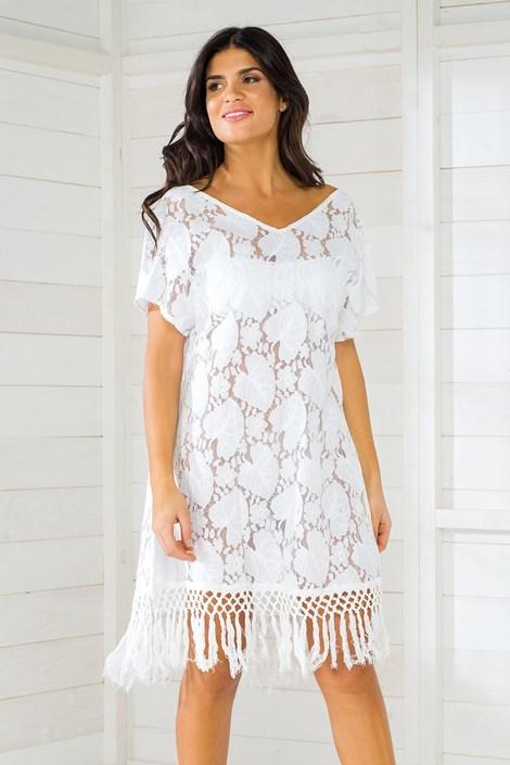 a9eed98bf6 Włoska sukienka letnia marki Iconique IC8011 White. ‹ ›