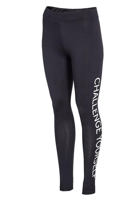 Damskie legginsy sportowe 4F Challenge Black