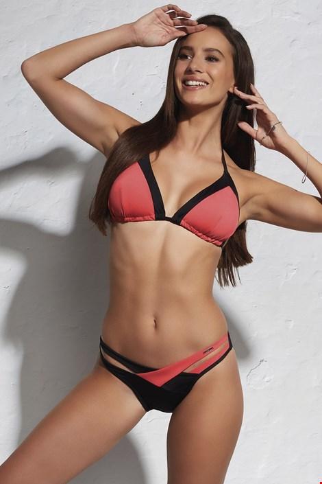 Biustonosz od stroju kąpielowego bikini Red Bustier