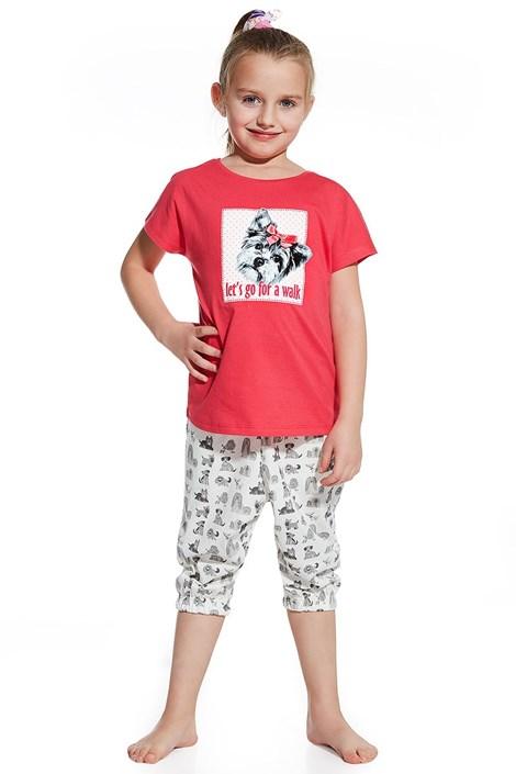 Dziewczęca piżama Let's go for walk
