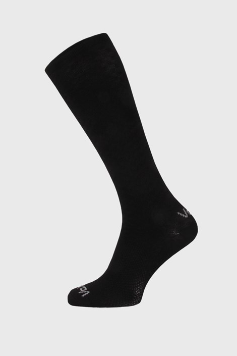 Czarne podkolanówki kompresyjne Lithe