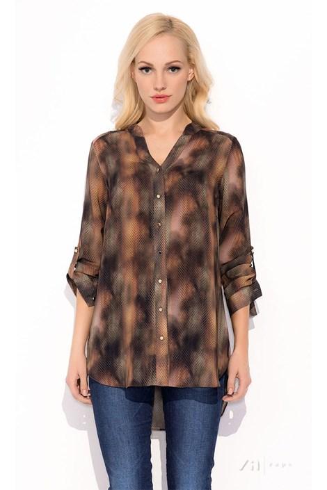 Damska bluzka koszulowa Merlina