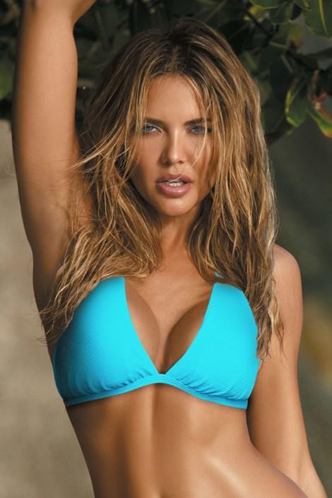 Biustonosz od stroju kąpielowego bikini Naomi blue