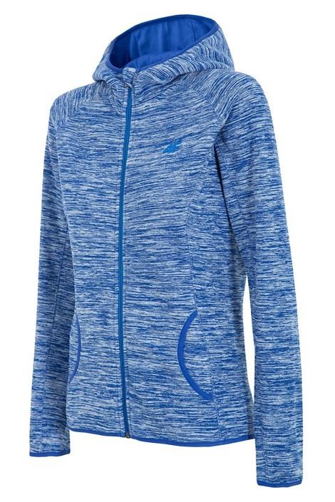 Damska bluza sportowa z polaru 4F Blue