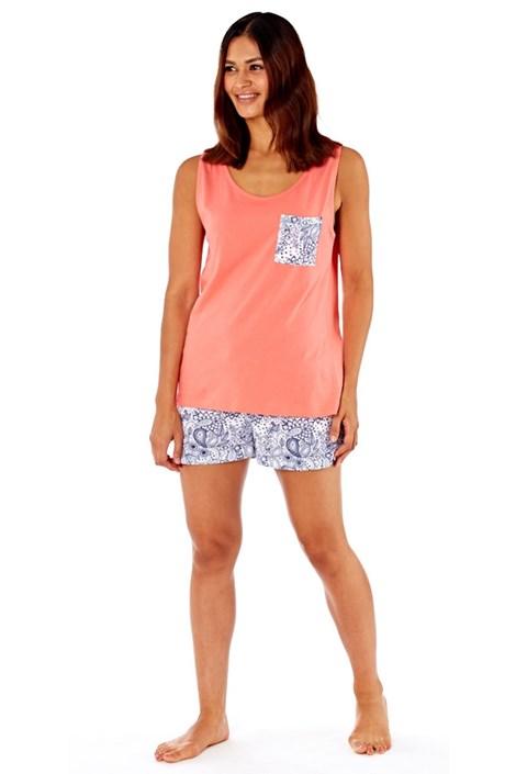 Damska piżama bawełniana Paisley