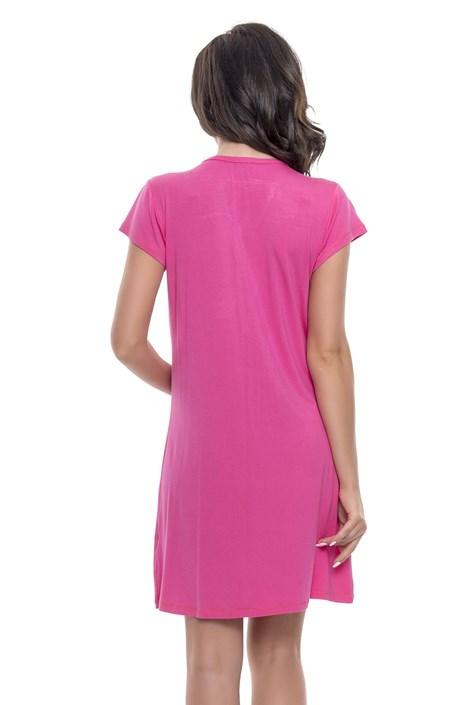 e61eca23 Bambusowa koszula nocna dla ciężarnych i karmiących Joy Pink