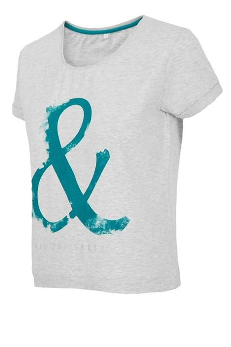 Modny T-shirt sportowy 4F Grey