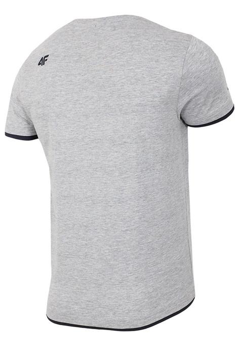 Męski T-shirt sportowy Never Give Up 100% bawełna